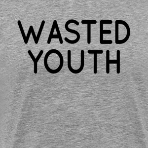 Wasted Youth Swag Hipster Hip Hop  T-Shirts - Men's Premium T-Shirt