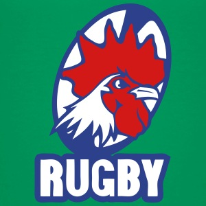 rugby rooster logo team Kids' Shirts - Kids' Premium T-Shirt