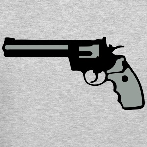 revolver gun 357 912 Long Sleeve Shirts - Crewneck Sweatshirt