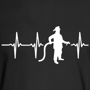 I'M IN LOVE WITH AN FIREFIGHTER! Long Sleeve Shirts - Men's Long Sleeve T-Shirt