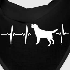 MY HEART BEATS FOR DOGS! I LOVE MY DOG! Caps - Bandana