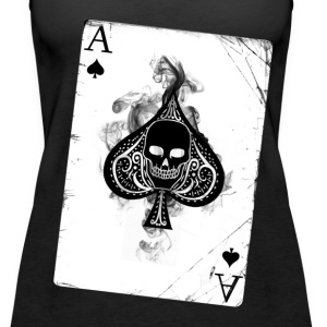 Ace of spades - Women's Premium Tank Top