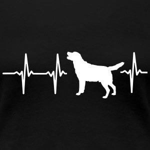 MY HEART BEATS FOR DOGS! I LOVE MY DOG! Women's T-Shirts - Women's Premium T-Shirt