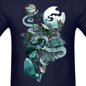 music and imaginary - Men's T-Shirt