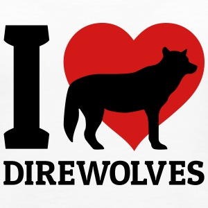 I love direwolves Tanks - Women's Premium Tank Top