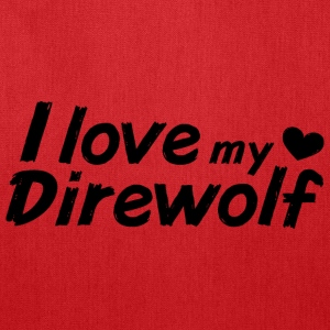 I love my Direwolf Bags & backpacks - Tote Bag