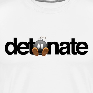 Detonate Logo Shirt - Men's Premium T-Shirt