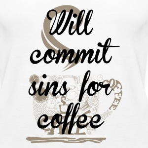 Sins for Coffee Tanks - Women's Premium Tank Top