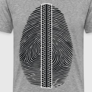 Fingerprint design art T-Shirts - Men's Premium T-Shirt