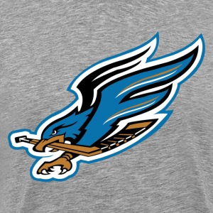 Fresno falcon bird T-Shirts - Men's Premium T-Shirt