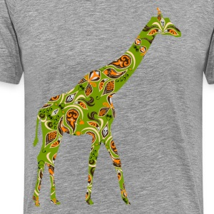 Giraffe decorative painting T-Shirts - Men's Premium T-Shirt