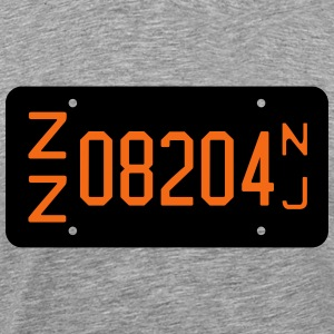 1956 Cape May Zip Code New Jersey License Plate T- - Men's Premium T-Shirt