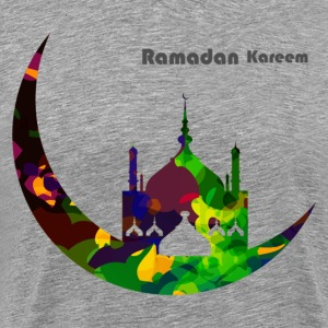 Colorful Ramadan Kareem design T-Shirts - Men's Premium T-Shirt