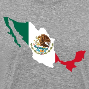 National territory with flag Mexico T-Shirts - Men's Premium T-Shirt
