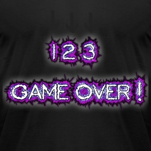 Game Over - Men's T-Shirt by American Apparel
