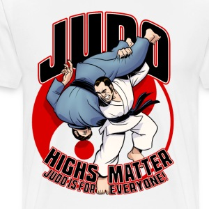 Judo Highs Matter - Men's Premium T-Shirt
