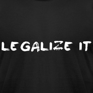 Legalize it T-Shirts - Men's T-Shirt by American Apparel