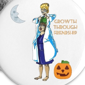 Growth through Friendship - Large Buttons