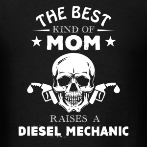 Diesel Mechanic Mom Shirt - Men's T-Shirt