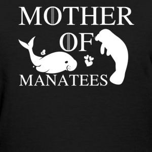Mother Of Manatees - Women's T-Shirt