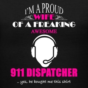 911 Dispatcher Wife Shirt - Women's V-Neck T-Shirt