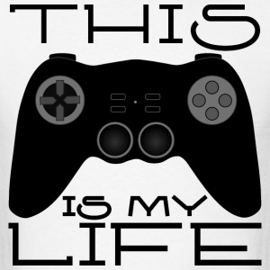 Game Controller Black - Gaming Lifestyle - Men's T-Shirt