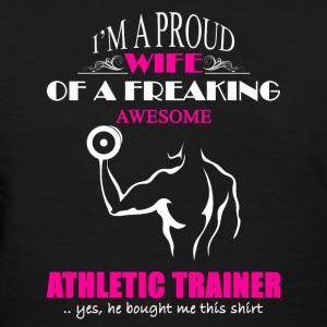 Athletic Trainer Wife - Women's T-Shirt