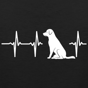 MY HEART BEATS FOR DOGS Sportswear - Men's Premium Tank