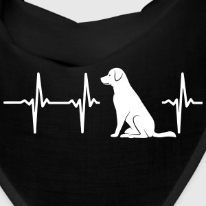 MY HEART BEATS FOR DOGS Caps - Bandana