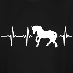 I LOVE HORSES! MY HEART BEATS FOR HORSES! T-Shirts - Men's Tall T-Shirt