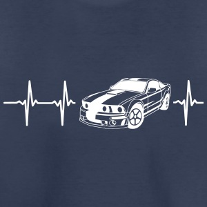 MY HEART BEATS FOR MUSCLE CARS! Baby & Toddler Shirts - Toddler Premium T-Shirt