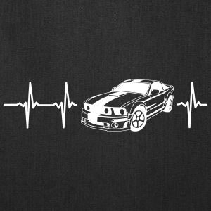 MY HEART BEATS FOR MUSCLE CARS! Bags & backpacks - Tote Bag
