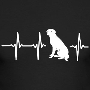 MY HEART BEATS FOR DOGS Long Sleeve Shirts - Men's Long Sleeve T-Shirt by Next Level