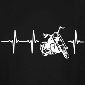 MY HEART BEATS FOR MY MOTORCYCLE T-Shirts - Men's Tall T-Shirt
