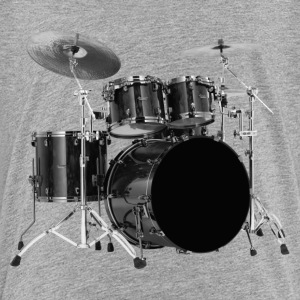 black drums set - Kids' Premium T-Shirt