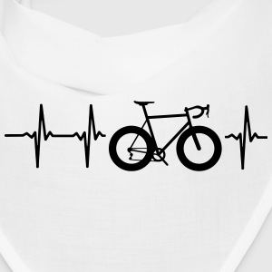 I LOVE MY BICYCLE! MY HEART BEATS FOR MY BIKE! Caps - Bandana