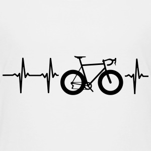 I LOVE MY BICYCLE! MY HEART BEATS FOR MY BIKE! Baby & Toddler Shirts - Toddler Premium T-Shirt
