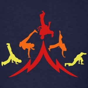 animation capoeira group 12 T-Shirts - Men's T-Shirt