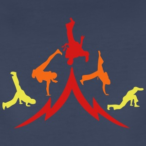 animation capoeira group 12 T-Shirts - Women's Premium T-Shirt