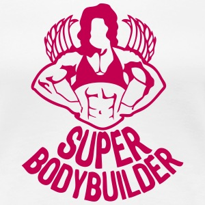37 great bodybuilding fitness woman body T-Shirts - Women's Premium T-Shirt