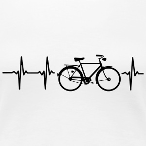 I LOVE MY BICYCLE! Women's T-Shirts - Women's Premium T-Shirt