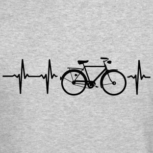 I LOVE MY BICYCLE! Long Sleeve Shirts - Crewneck Sweatshirt