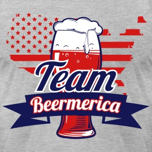 Team Beermerica - Men's T-Shirt by American Apparel