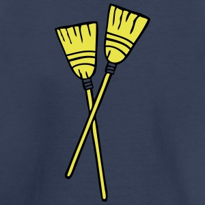 double brooms 1 Kids' Shirts - Kids' Premium T-Shirt