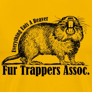 Fur Trappers Assoc. - Men's Premium T-Shirt
