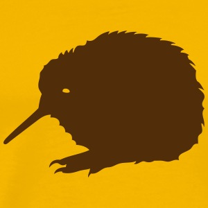 kiwi bird pet 1 T-Shirts - Men's Premium T-Shirt