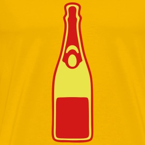 champagne bottle 2 T-Shirts - Men's Premium T-Shirt
