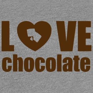 love chocolate T-Shirts - Women's Premium T-Shirt