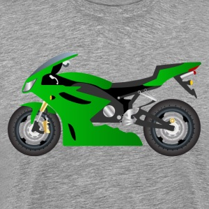 Motorbike transport vehicle T-Shirts - Men's Premium T-Shirt