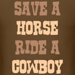 Save A Horse - Men's T-Shirt